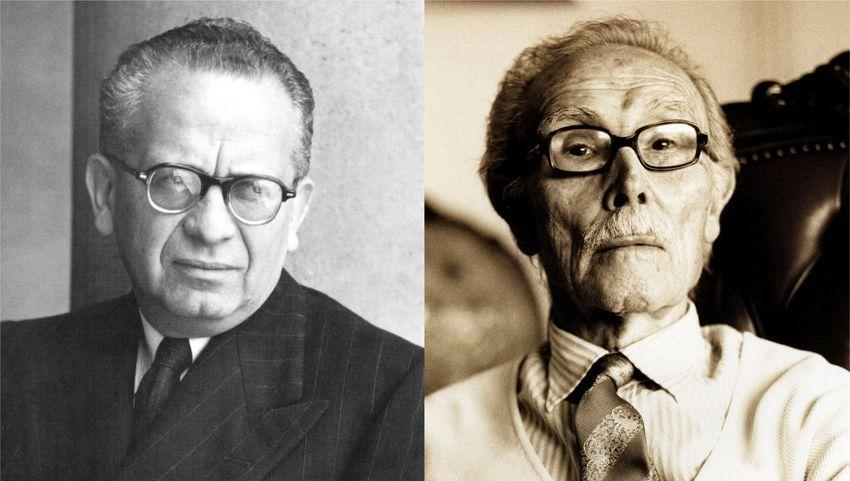 Max Aub y Juan Gil-Albert