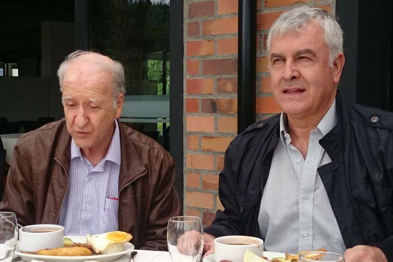 Alonso Aristizábal y Antonio María Flórez