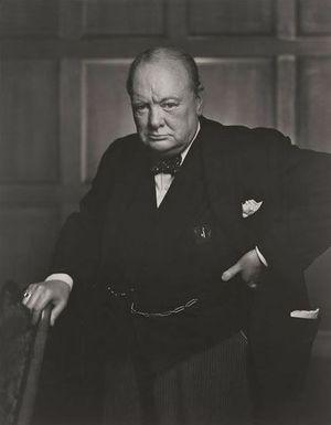 Winston Churchill, por Yousuf Karsh