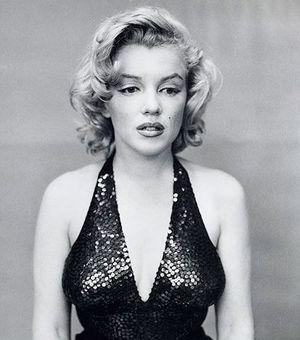 Marilyn Monroe, por Richard Avedon