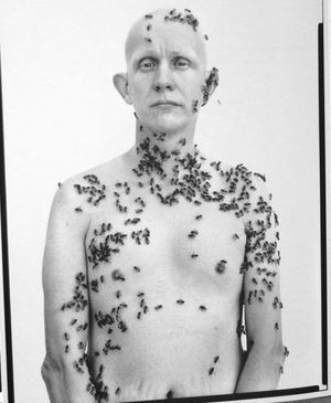 El apicultor, por Richard Avedon