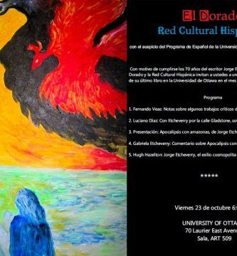 "Presentación de ""Apocalipsis con amazonas"", de Jorge Etcheverry"