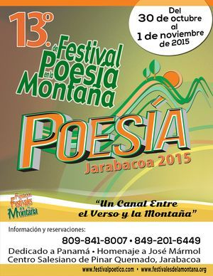Festival de Poesía en la Montaña de Jarabacoa