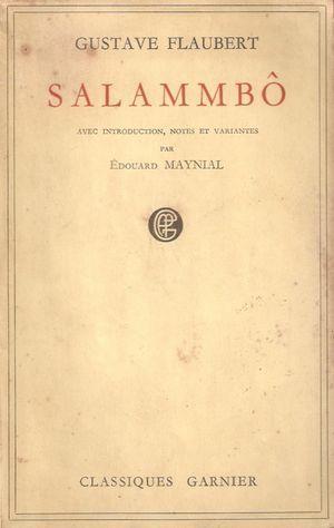 """""""Salambó"""", de Gustave Flaubert"""