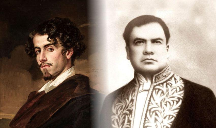 Gustavo Adolfo Bécquer y Rubén Darío