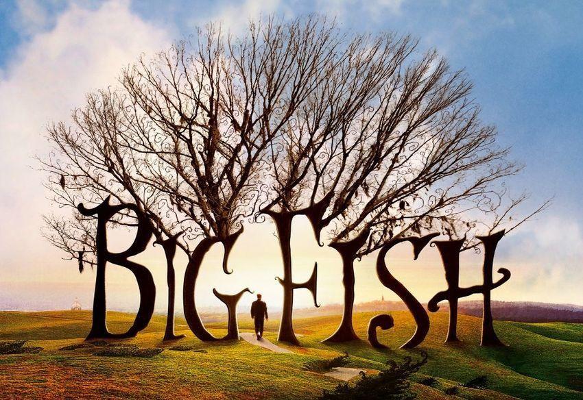 "Afiche de ""Big Fish"" (2003), de Tim Burton"