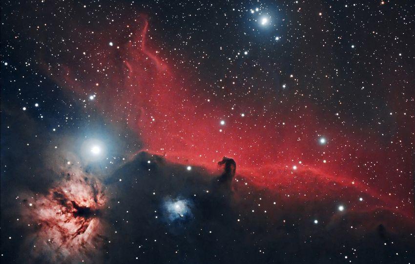 "Nebulosa ""Cabeza de Caballo"" (Barnard 33)"