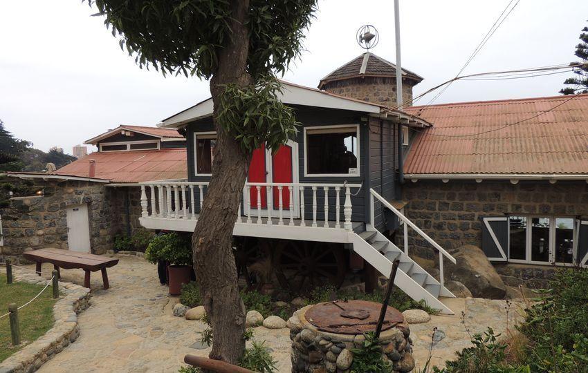 Casa de Pablo Neruda en Valparaíso