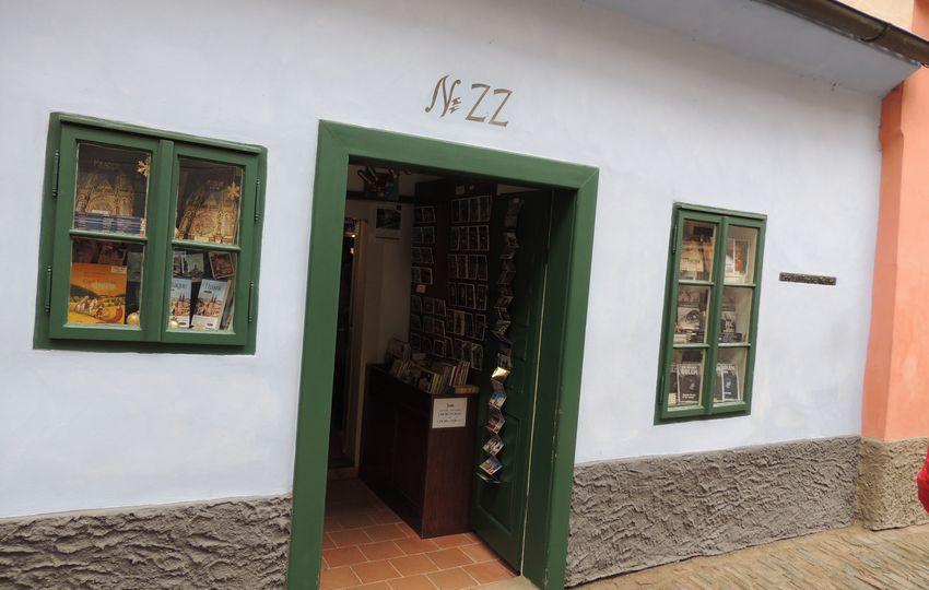 Casa de Franz Kafka en Praga