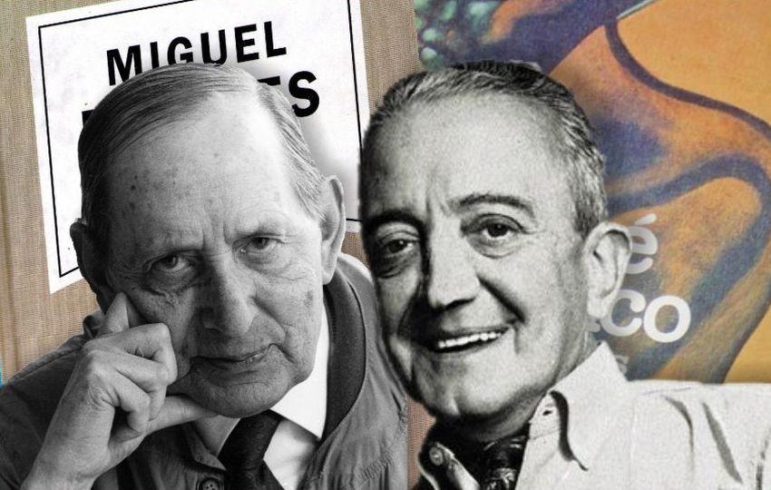 Miguel Delibes y José Bianco