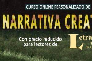 Curso online personalizado de Narrativa Creativa con descuentos para lectores de Letralia