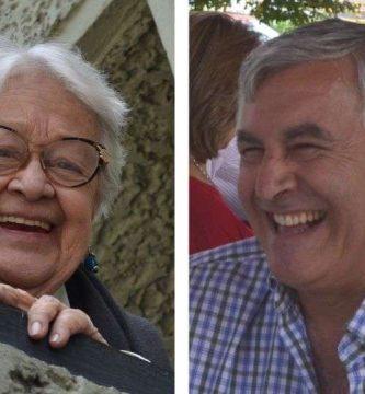 Maruja Vieira y Antonio María Flórez