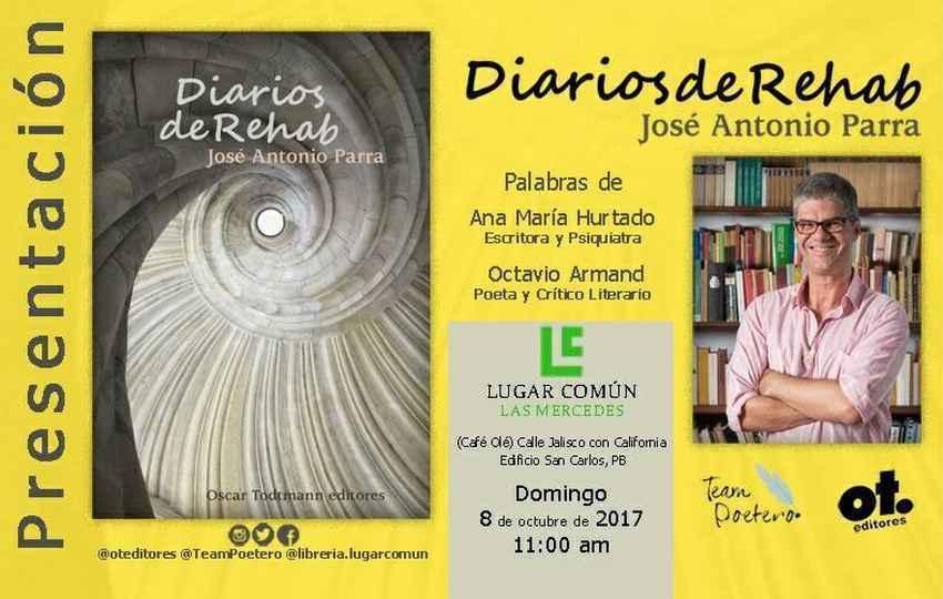"""""""Diarios de Rehab"""", de José Antonio Parra"""
