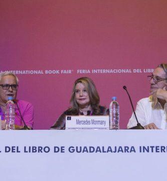 Juan Cruz, Mercedes Monmany y Alberto Ruy Sánchez