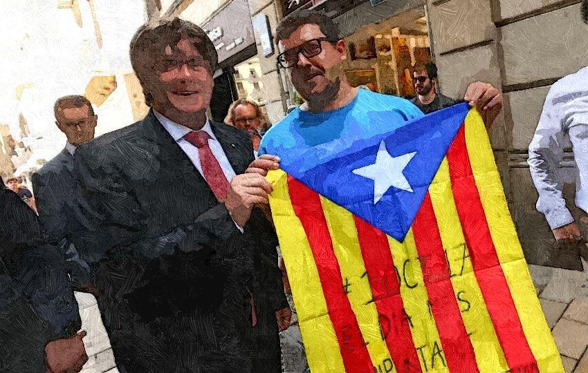 Puigdemont en Cataluña
