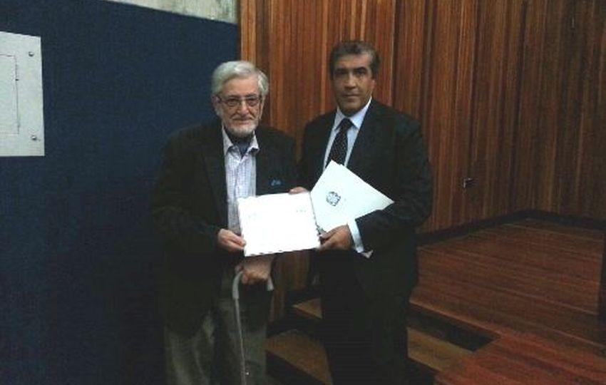 I Premio Filippo Vagnoni para Antonio Pasquali
