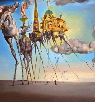"""""""La tentación de san Antonio"""", de Salvador Dalí"""