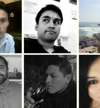 Kenki Ibáñez, Fernando Dolores, Jeanette Prieto Noriega, Kurt Furse, Ddedwin Galindo González y Fabiola del Mar