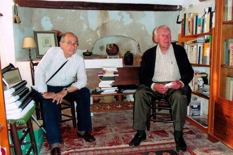 Gaspar Peral Baeza y Ramón Fernández Palmeral