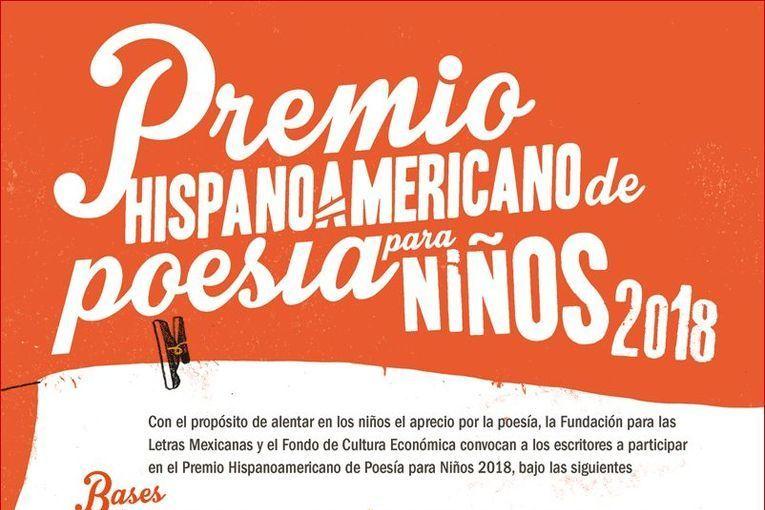 Premio Hispanoamericano de Poesía para Niños 2018