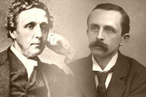 Lewis Carroll y James Matthew Barrie
