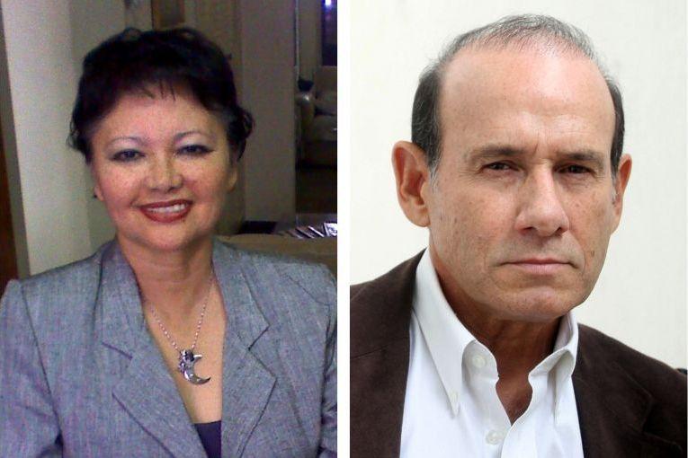 Blanca Miosi y Heberto Gamero