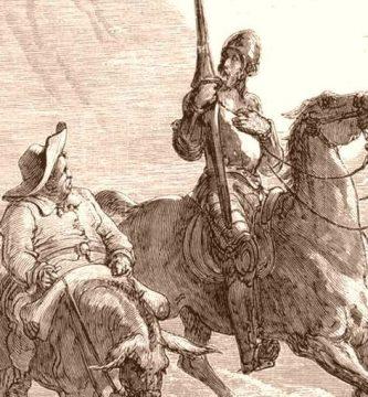 """""""El ingenioso hidalgo don Quijote de la Mancha"""", de Miguel de Cervantes Saavedra"""