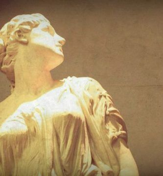 """""""La mujer de Lot"""". Escultura de William Hamo Thornycroft"""