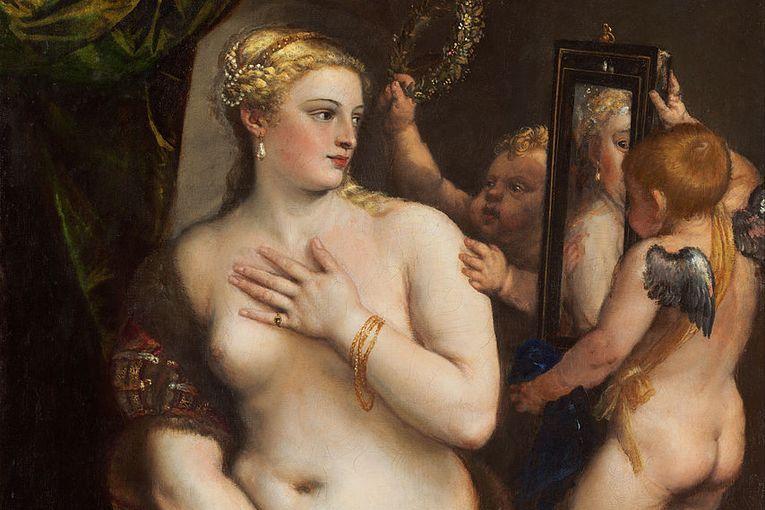 """Venus del espejo"" (1555), de Tiziano"