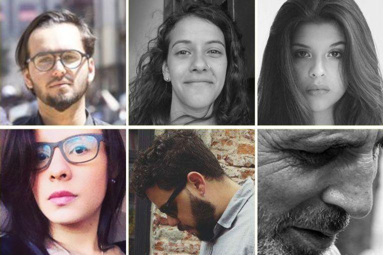 Zakarías Zafra, Diana Moncada, Eva Tizzani, Michelle Rodríguez Lugo y Juan Miguel Rojas traducidos al italiano por Antonio Nazzaro