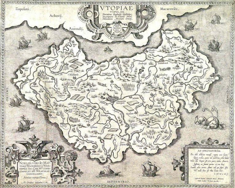 Utopía, de Tomás Moro