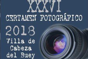 """XXXVI Certamen Fotográfico """"Villa de Cabeza del Buey"""" 2018"""