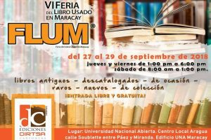 Feria del Libro Usado en Maracay FLUM2018