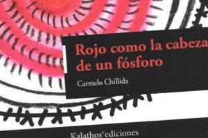 """Rojo como la cabeza de un fósforo"", de Carmelo Chillida"