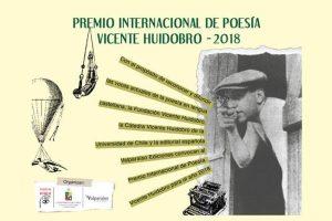 Premio Internacional de Poesía Vicente Huidobro 2018