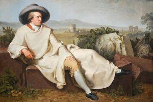 """""""Goethe en la campiña romana"""" (1787), de Johann Heinrich Wilhelm Tischbein"""