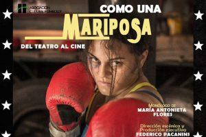 """""""Como una mariposa"""", de María Antonieta Flores"""