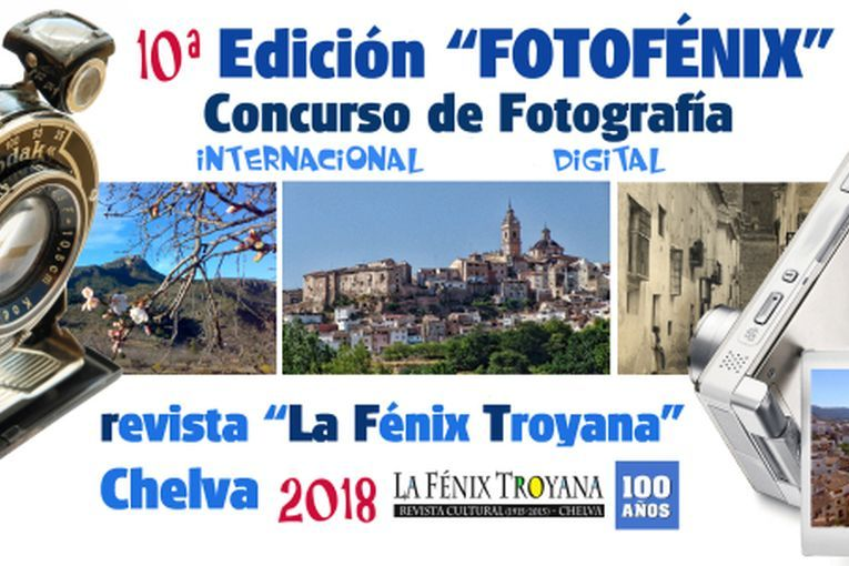 """X Concurso Internacional de Fotografía Digital """"Fotofénix"""""""