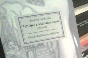 """""""Tatuajes criminales rusos"""", de Fedosy Santaella"""