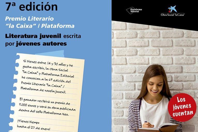"""7º Premio Literario """"la Caixa""""/Plataforma"""