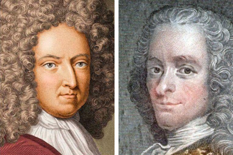 Daniel Defoe y Voltaire