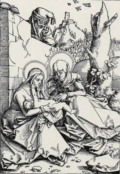 La Sagrada Familia (1511), por Hans Baldung