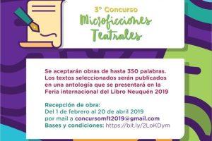 Tercer Concurso de Microficciones Teatrales 2019