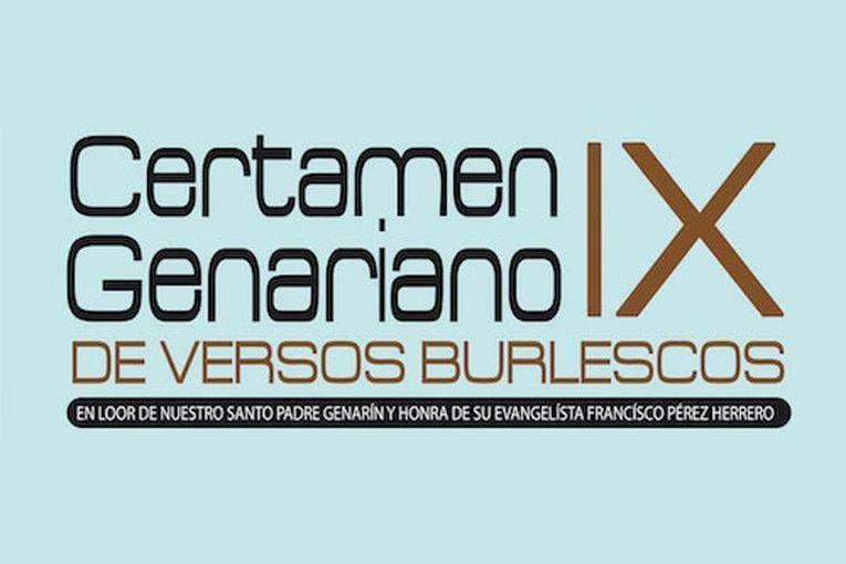 IX Certamen Genariano de Versos Burlescos