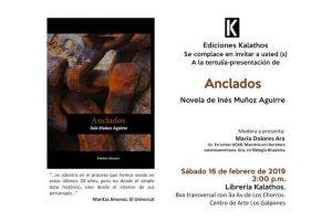 """""""Anclados"""", de Inés Muñoz Aguirre"""