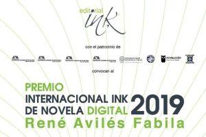 Premio Internacional Ink de Novela Digital 2019 René Avilés Fabila