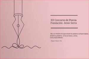 XII Concurso de Poesía Fundación Jesús Serra