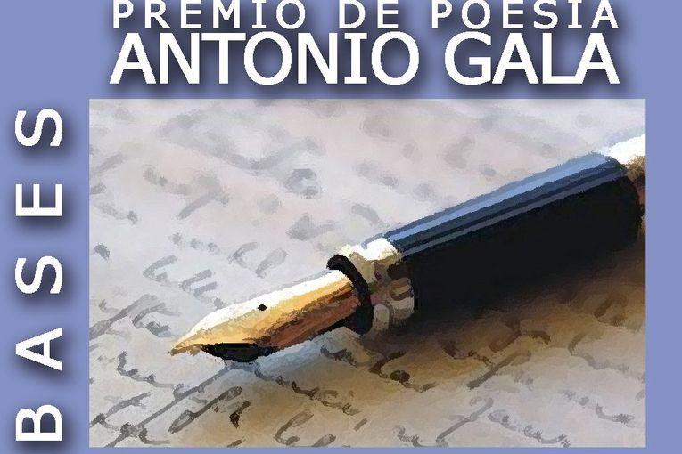 XV Premio de Poesía Antonio Gala