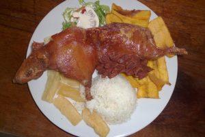 Cuyi al plato... con arroz, por Benedicto González Vargas