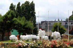 Monumento al Ovejero, en Coyhaique
